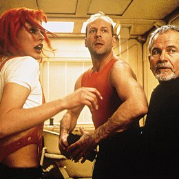 fünfte Element, Das / Milla Jovovich / Bruce Willis / Ian Holm Poster