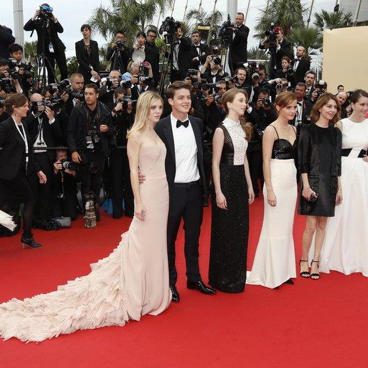 Julien, Claire / Broussard, Israel / Farmiga, Taissa / Watson, Emma / Coppola, Sofia / Chang, Katie / 66. Internationale Filmfestspiele von Cannes 2013