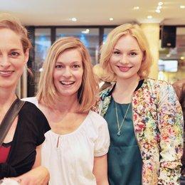 30. Filmfest München 2012 / ZDF-Empfang / Sophie von Kessel, Lisa Martinek und Rosalie Thomass