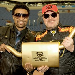 "Shaggy und Stefan Raab bei der 3. ""tv total Stock Car Crash Challenge"" Poster"