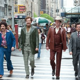 Anchorman - Die Legende kehrt zurück / Anchorman 2 / Paul Rudd / Will Ferrell / David Koechner / Steve Carell Poster