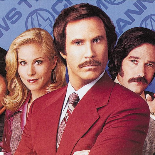 Anchorman - Die Legende von Ron Burgundy, Der / David Koechner / Christina Applegate / Will Ferrell / Paul Rudd / Steve Carell Poster