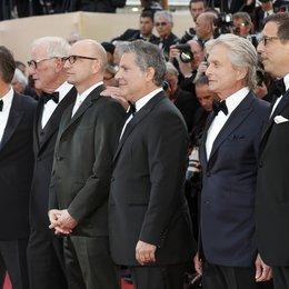 Damon, Matt / Weintraub, Jerry / Soderbergh, Steven / Douglas, Michael / 66. Internationale Filmfestspiele von Cannes 2013