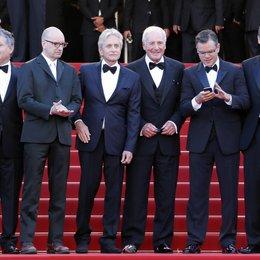 Soderbergh, Steven / Douglas, Michael / Weintraub, Jerry / Damon, Matt / 66. Internationale Filmfestspiele von Cannes 2013
