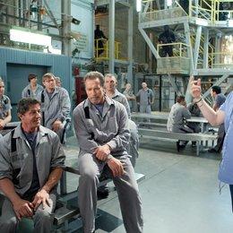 Escape Plan / Set / Sylvester Stallone / Arnold Schwarzenegger / Mikael Håfström