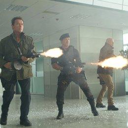 Expendables 2, The / Arnold Schwarzenegger / Sylvester Stallone / Bruce Willis Poster