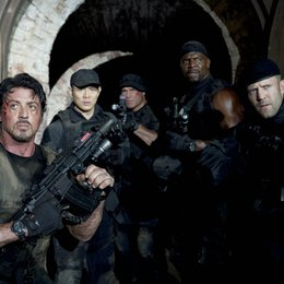 Expendables / Sylvester Stallone / Jet Li / Randy Couture / Terry Crews / Jason Statham / The Expendables 1 & 2