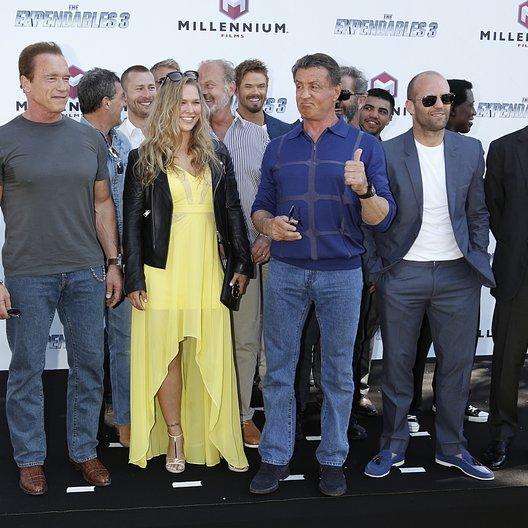 Expendables Team / 67. Internationale Filmfestspiele Cannes 2014 / Arnold Schwarzenegger / Ronda Rousey / Sylvester Stallone / Jason Statham / Harrison Ford