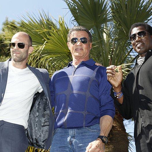 Jason Statham / Sylvester Stallone / Wesley Snipes / 67. Internationale Filmfestspiele Cannes 2014