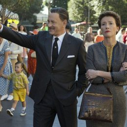 "Tom Hanks und Emma Thompson in ""Saving Mr. Banks"" Poster"