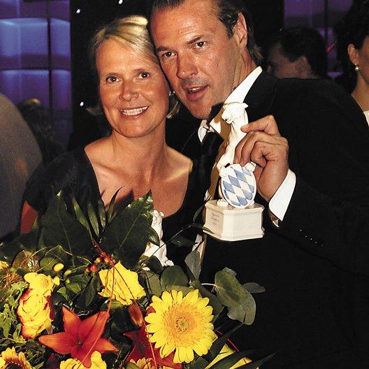 Bayerischer Fernsehpreis 2005 / Heike Richter-Karst / Sebastian Koch Poster