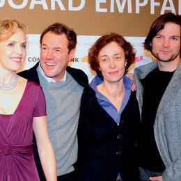Medienboard Empfang anlässlich der 59. Berlinale / Juliane Köhler, Sebastian Koch, Hermine Huntgeburth und Misel Maticevic Poster