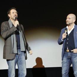 Universum Film Trade Show im Rahmen der Münchner Filmwoche 2013 / Sebastian Koch und Al Munteanu Poster
