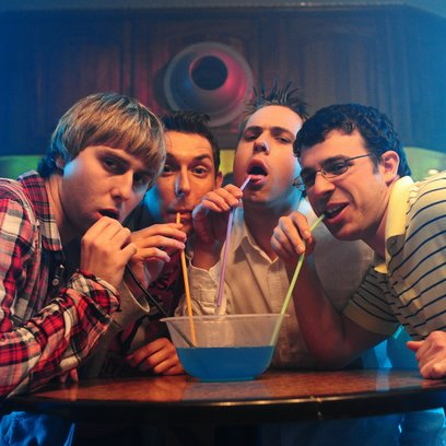Sex on the Beach / Inbetweeners, The / James Buckley / Blake Harrison / Joe Thomas / Simon Bird Poster