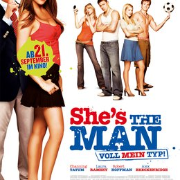 She's the Man - Voll mein Typ Poster