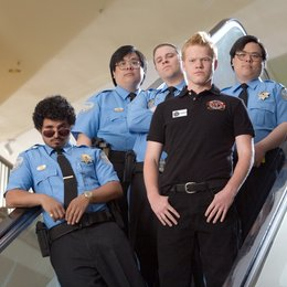 Shopping-Center King - Hier gilt mein Gesetz / Observe and Report / Michael Pena / Seth Rogen / Jesse Plemons / Matt Yuan / John Yuan Poster