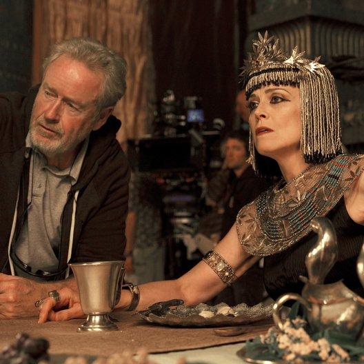 Exodus: Götter und Könige / Set / Ridley Scott / Sigourney Weaver Poster