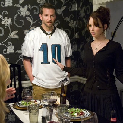 Silver Linings Playbook, The / Bradley Cooper / Jennifer Lawrence Poster