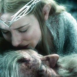Hobbit: Die Schlacht der fünf Heere, Der / Sir Ian McKellen / Cate Blanchett Poster
