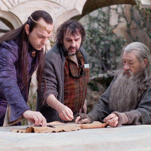 Hobbit: Eine unerwartete Reise, Der / Hugo Weaving / Peter Jackson / Sir Ian McKellen Poster