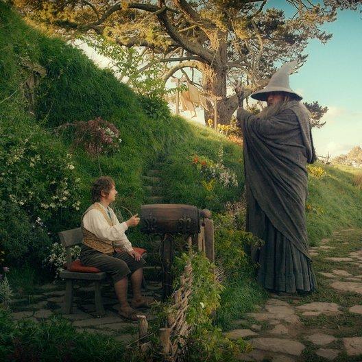 Hobbit: Eine unerwartete Reise, Der / Martin Freeman / Sir Ian McKellen Poster