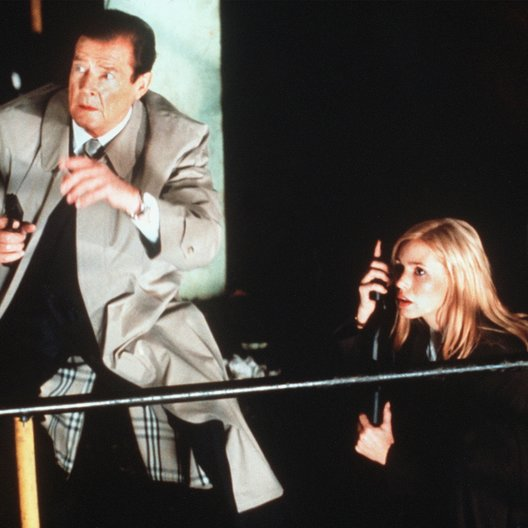 Enemy, The / Roger Moore / Olivia D'Abo Poster