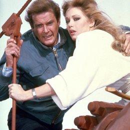 James Bond 007: Im Angesicht des Todes / Roger Moore Poster