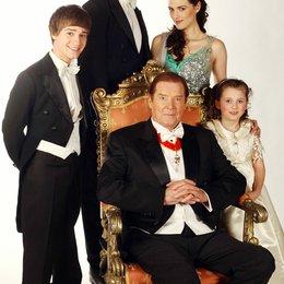 Prinzessin zu Weihnachten, Eine / Sir Roger Moore / Katie McGrath / Leilah de Meza / Sam Heughan / Travis Turner Poster