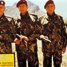Wildgänse kommen, Die / Richard Harris / Roger Moore / Richard Burton / Hardy Krüger Poster
