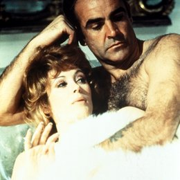 James Bond 007: Diamantenfieber / Sean Connery / Jill St. John Poster