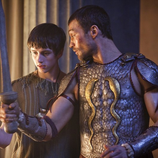 Spartacus: Blood and Sand (1. Staffel, 13 Folgen) / Andy Whitfield / Lliam Powell