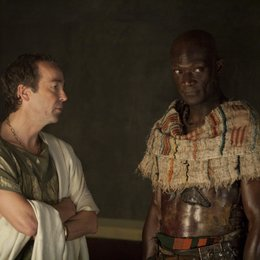 Spartacus: Blood and Sand (1. Staffel, 13 Folgen) / John Hannah / Peter Mensah Poster