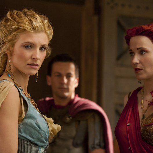 Spartacus: Blood and Sand (1. Staffel, 13 Folgen) / Lucy Lawless / Viva Bianca