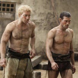 Spartacus: Blood and Sand (1. Staffel, 13 Folgen) / Andy Whitfield / Jai Courtney Poster