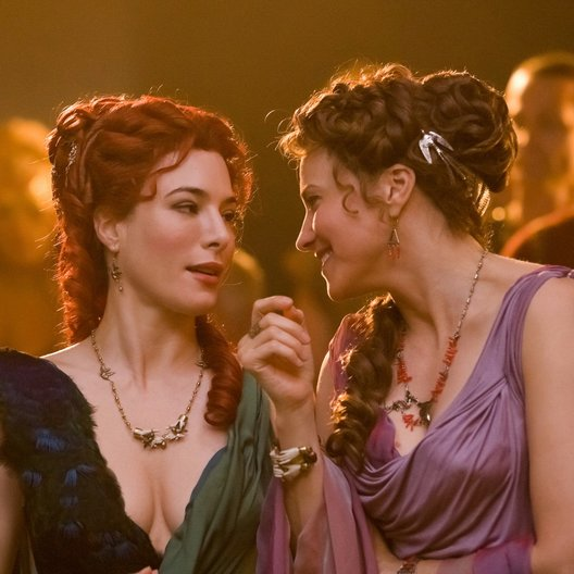Spartacus: Gods of the Arena / Jaime Murray / Lucy Lawless