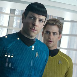 Star Trek Into Darkness / Zachary Quinto / Chris Pine