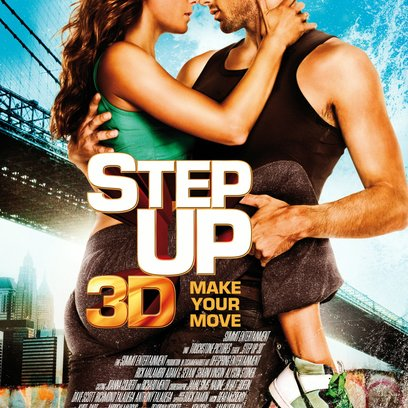 Step Up 3D - Make Your Move / Step Up 3D Poster