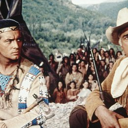 Karl May Box II - Winnetou trifft Old Surehand / Der Ölprinz / Pierre Brice / Stewart Granger Poster