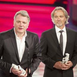 """24. Bayerischer Fernsehpreis - """"Blaue Panther"""" 2012 / Sven Burgemeister und Andreas Bareiss Poster"""