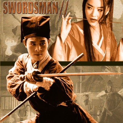 China Swordsman Poster