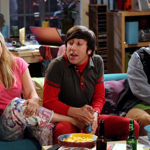 Big Bang Theory - Die komplette vierte Staffel, The / Kaley Cuoco / Simon Helberg / Johnny Galecki Poster