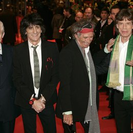 Rolling Stones / Berlinale 2008 / Charlie Watts / Ron Wood / Keith Richards / Mick Jagger Poster