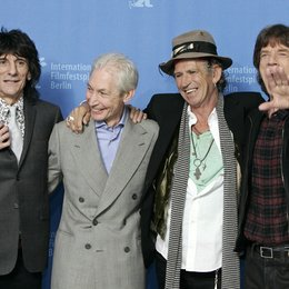 Rolling Stones / Berlinale 2008 / Ron Wood / Charlie Watts / Keith Richards / Mick Jagger Poster