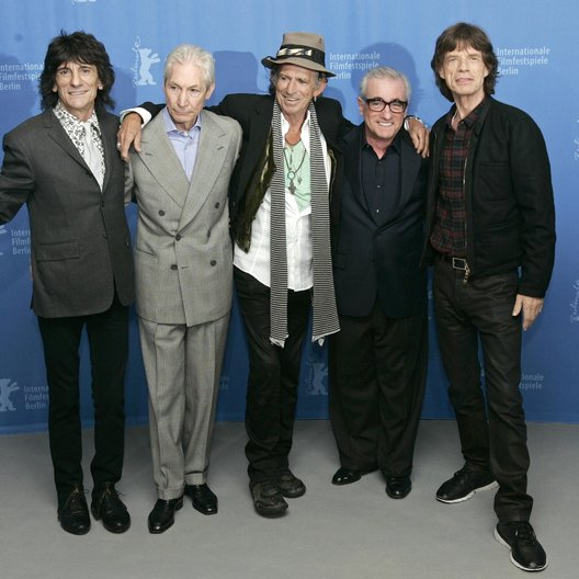 Rolling Stones / Berlinale 2008 / Ron Wood / Charlie Watts / Keith Richards / Martin Scorsese / Mick Jagger Poster