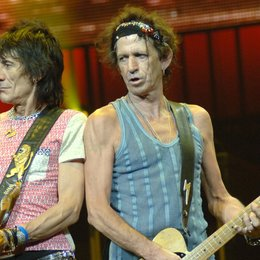 Rolling Stones, The / A Bigger Bang' World Tour (live shots) 2006 / Ron Wood / Keith Richards Poster