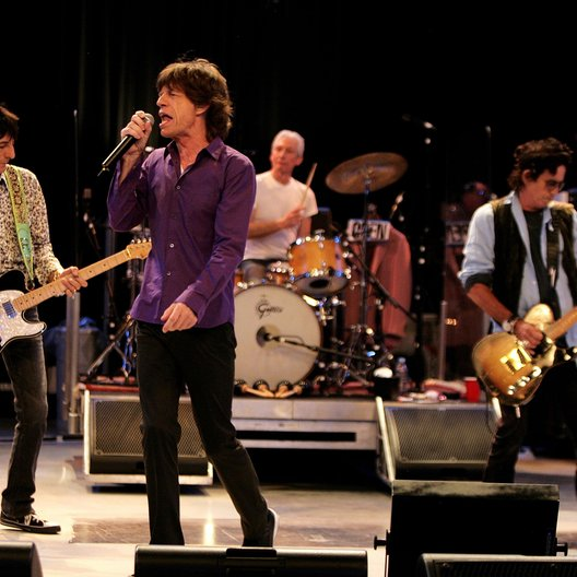 Rolling Stones, The / European Dress Rehearsal 2007 Poster