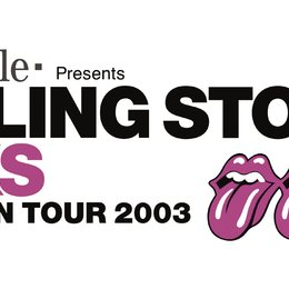 T-Mobile presents Rolling Stones - Licks, European Tour 2003 / Logo Poster