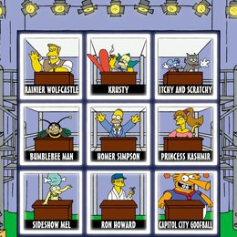 Simpsons - Die komplette Season 11, The Poster