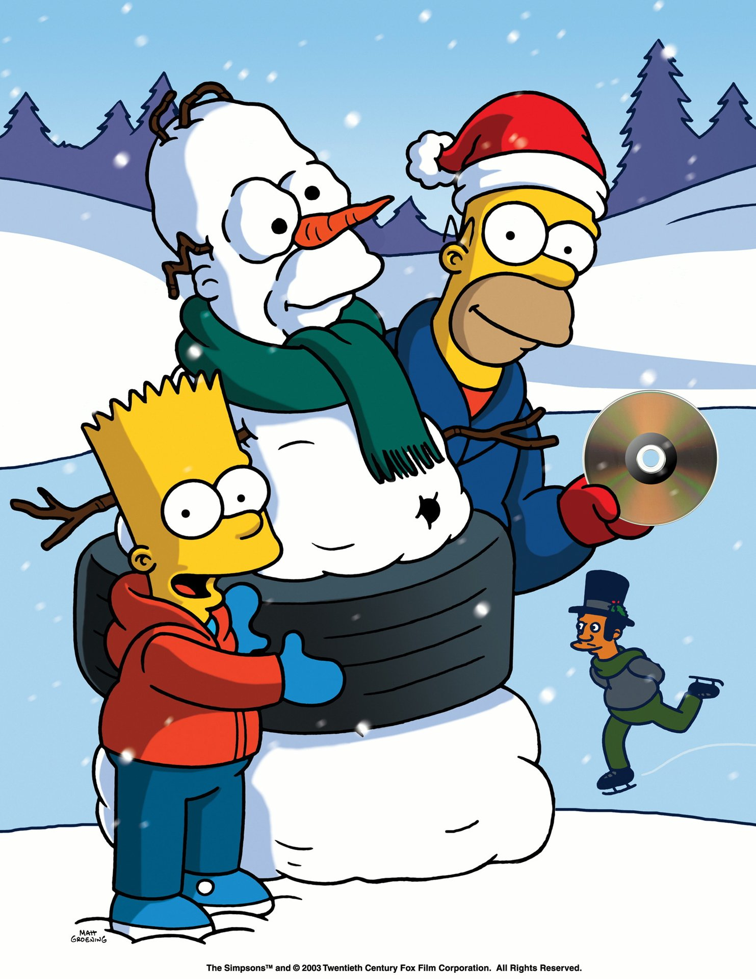 the simpsons x mas with the simpsons film 1992. Black Bedroom Furniture Sets. Home Design Ideas