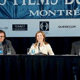 """Weltpremiere von """"Waffenstillstand"""" beim Filmfestival in Montreal / Lancelot von Naso, Thekla Reuten und Florian Deyle Poster"""